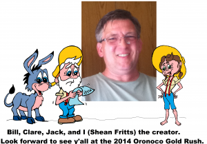 Shean Fritts, the creator of Bill, Clare and Jack