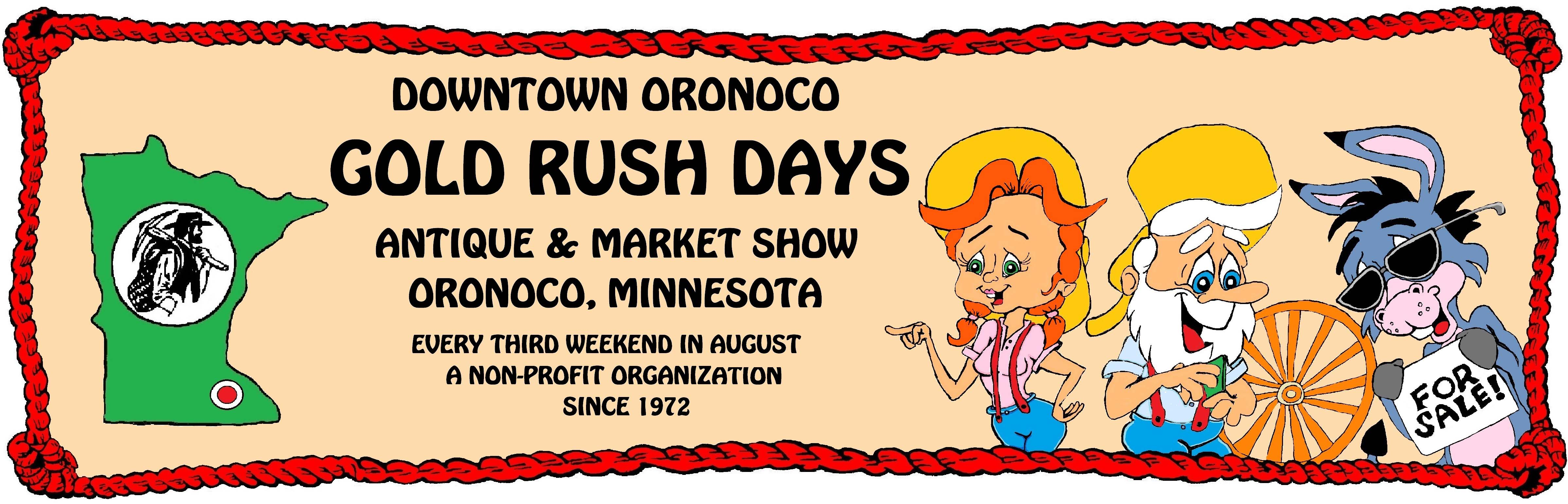 Downtown Oronoco Gold Rush Days