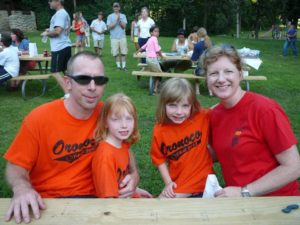 Oronoco Gold Rush supports National Night Out in Oronoco