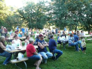 Oronoco National Night Out draws a crowd.