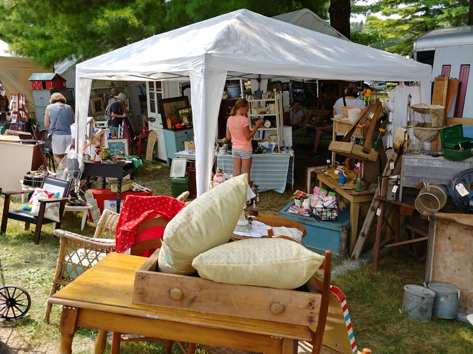 Sparrow Antiques Booth