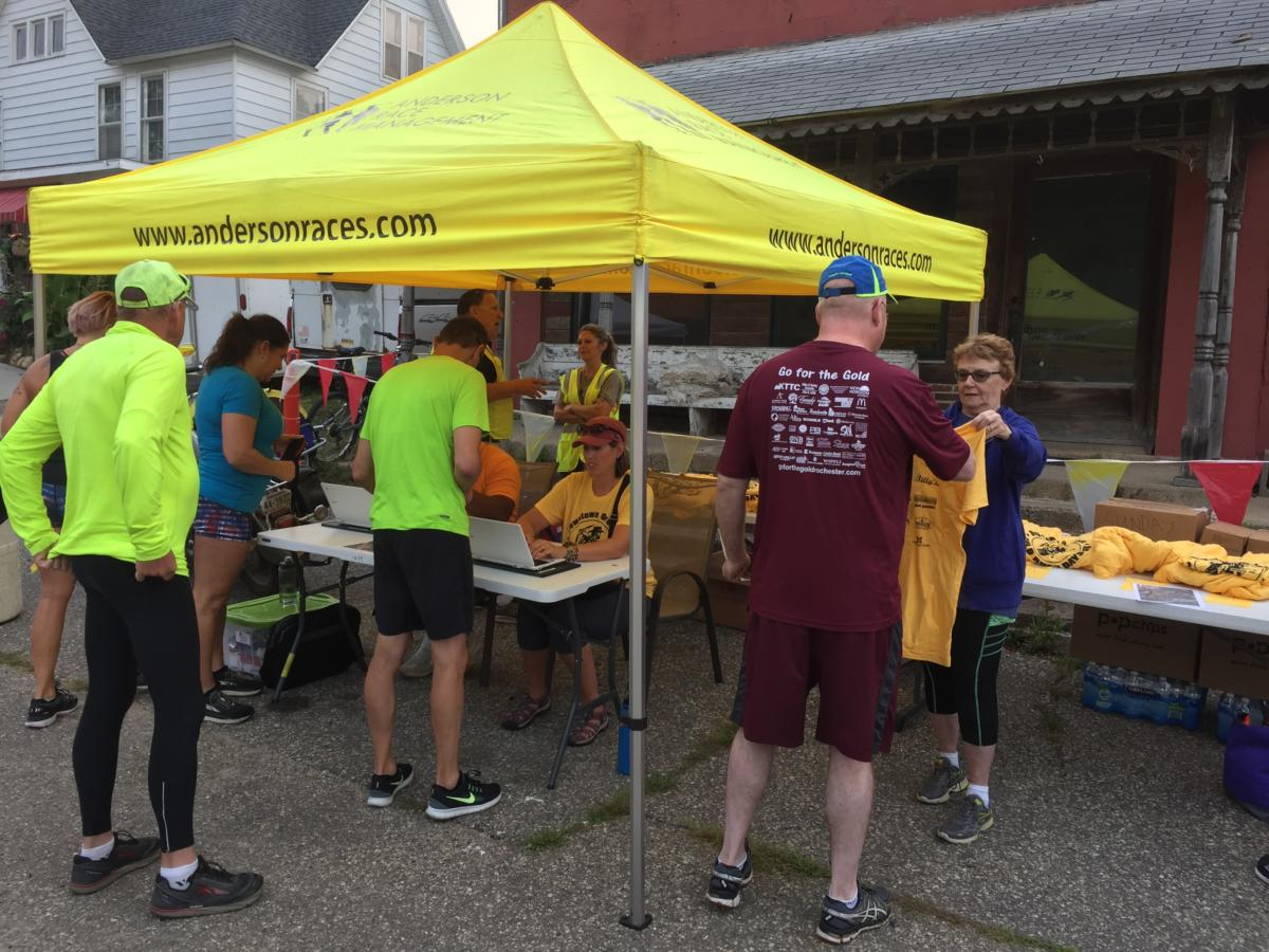 Race Images - Downtown Oronoco Gold Rush Days